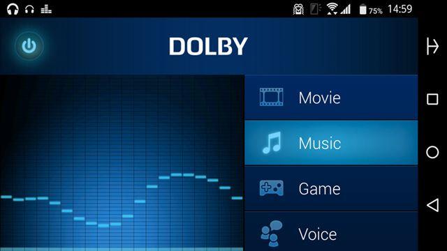 サウンドエンハンサーとして「Dolby Processing」を搭載。ハイレゾ音源の再生にも対応している