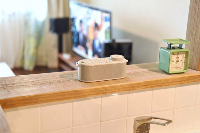 ソニーのテレビ用ワイヤレススピーカー「SRS-LSR100」をキッチンなどで利用してみた