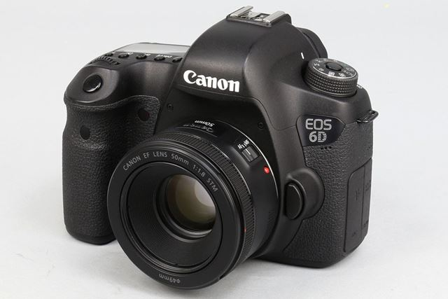 EF50mm F1.8 STM。カメラはEOS 6D