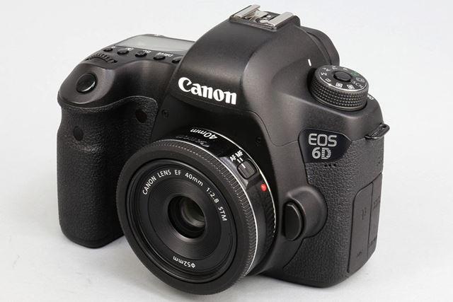 EF40mm F2.8 STM。カメラはEOS 6D