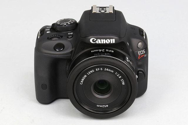 EF-S24mm F2.8 STM。カメラはEOS Kiss X7