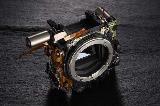 D500のミラー機構