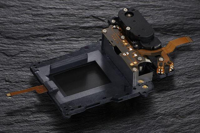 D500のシャッターユニット