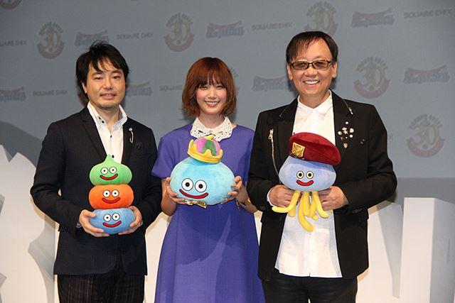 From left to right, Mr. Ryutaro Ichimura, Tsubasa Honda, and Yuji Horii