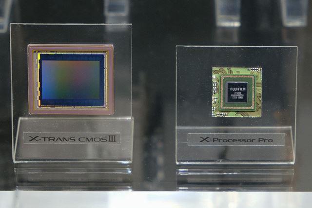 有効約2430万画素の新開発APS-Cセンサー「X-Trans CMOS III」と新画像処理エンジン「X-Processor Pro」