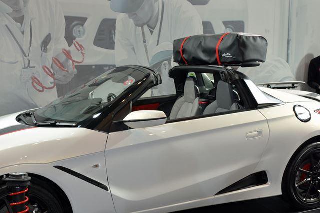 ロールバーの上に荷物を載せられるようにしたModulo S660 Study Model