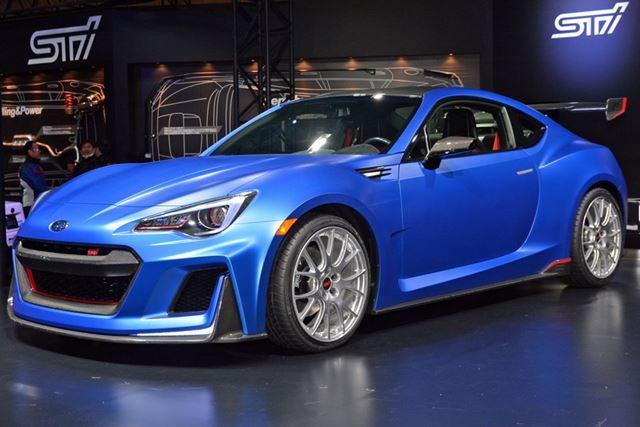 スーパーGT選手権参戦マシンと同じターボエンジンを搭載するSTI Performance Concept