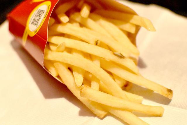 ファーストフード店のポテトって、たまに無性に食べたくなります