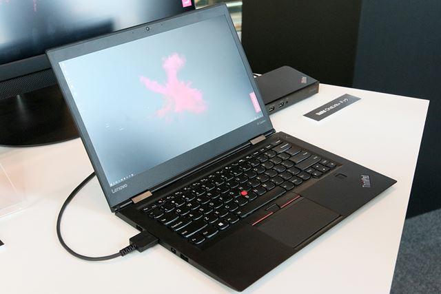 14型の大画面ビジネスノートとして人気のThinkPad X1 Carbon。前世代より10%軽くなった