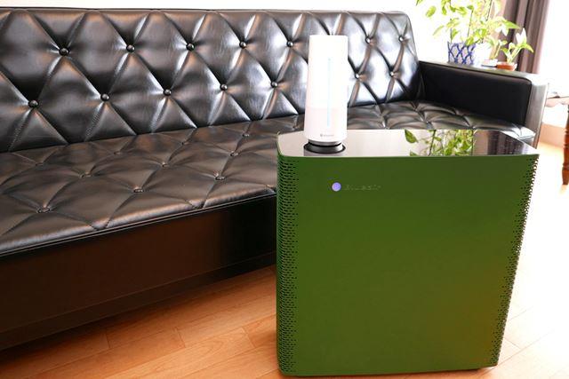 Wi-Fi機能搭載の空気清浄機「Sense+(センスプラス)」と、空気センサー「Aware(アウェア)」