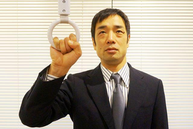 1. すべての指を使って輪を掴むのが一般的なスタイル