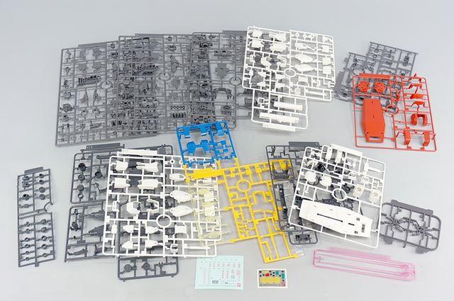 THE ORIGIN版のMG「RX-78-02 ガンダム」のランナー一覧です