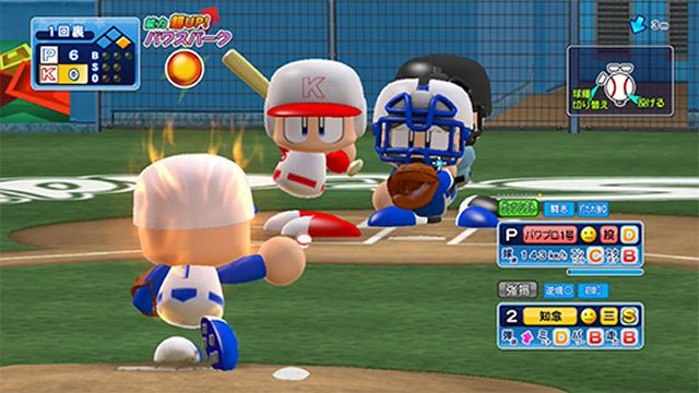 A popular professional baseball game for home and smartphones can finally be played at the arcade!