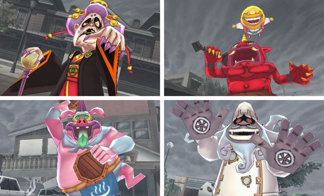 """The bosses that appear when """"true hit"""" users are participating. Destroy with your friends!"""
