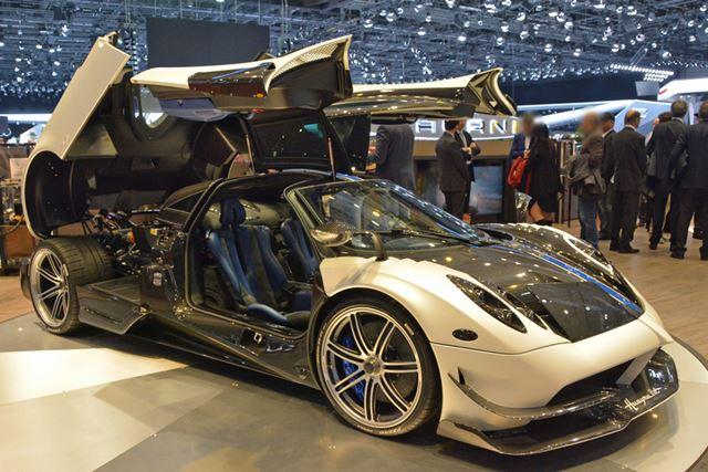スウェーデン発祥のスーパーカーメーカーであるケーニグセグもショーに参加。数多くのモデルを出品していた