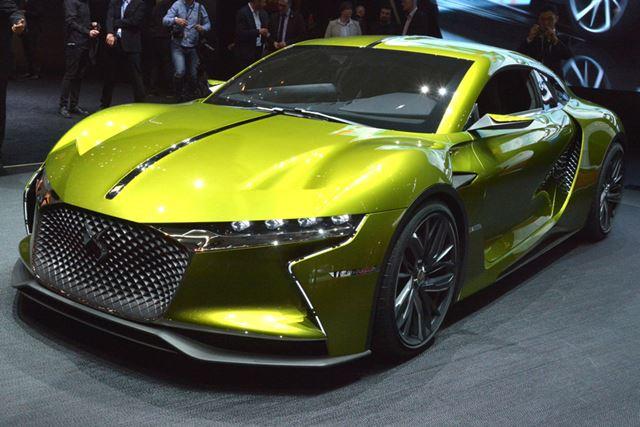 DSブランドから驚きのコンセプトDS Eテンスがお披露目された。最高出力402馬力の2駆の電気自動車だ