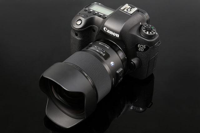 シグマの広角レンズ、20mm F1.4 DG HSM。EOS 6Dを使って撮影した