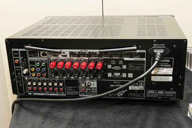 オンキヨー「TX-NRN656」背面
