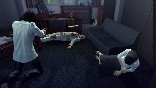 """錦山彰、やっちまいました! 現場に駆け付けた桐生は、錦山をかばって""""親殺し""""の罪を背負う"""