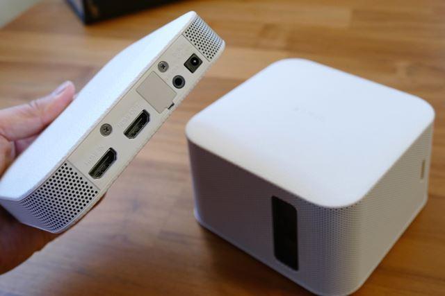 送信ユニットに、HDMIの入出力とオーディオアウトを搭載