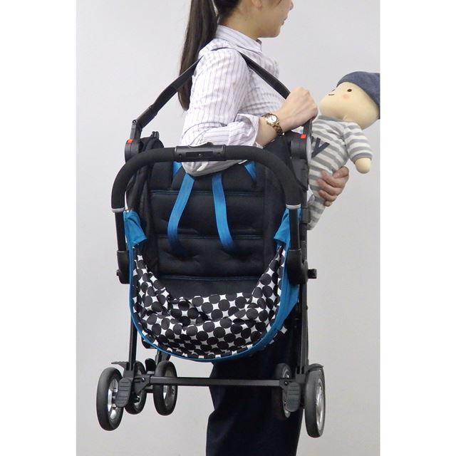 ショルダーバッグのようにも持ち運べば、階段の昇り降りも楽にクリアできそう!