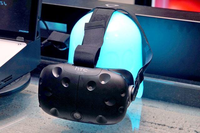 「VR ZONE Project i Can」では、台湾のHTCが開発したVRデバイス「HTC Vive」が採用されています