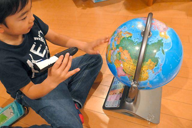 パーフェクトタッチは持ちやすいサイズで持ち手部分はラバー素材になっており、子どもでも扱いやすい
