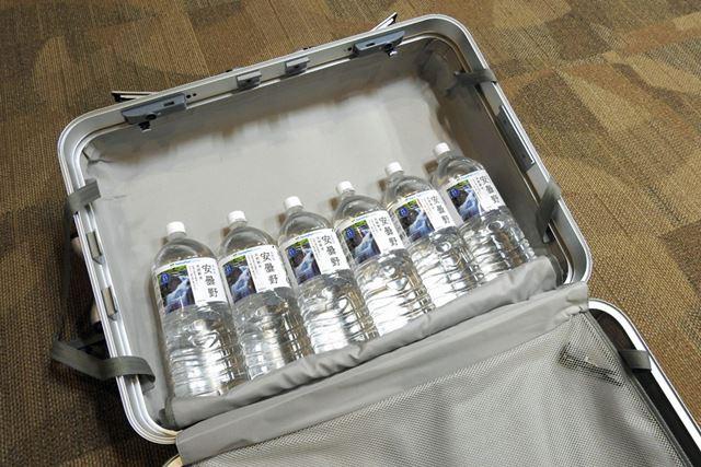 ペットボトル+スーツケースで合計19.4kgと表示されれば正確ということになる