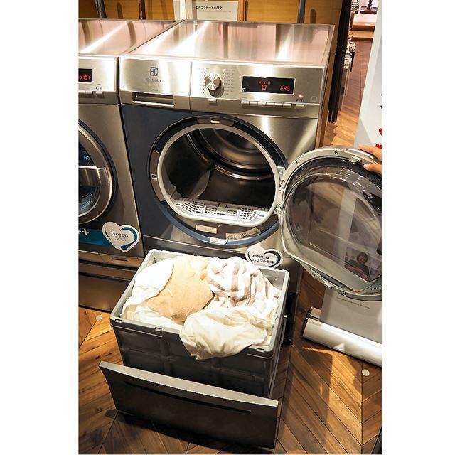 最大8kgまでの衣類を乾燥可能。同社によれば、これは国内最大クラスの乾燥量だという