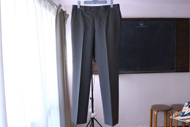 パンツが温かいうちはラインが消えやすいので、少し時間を置いてからはいてください