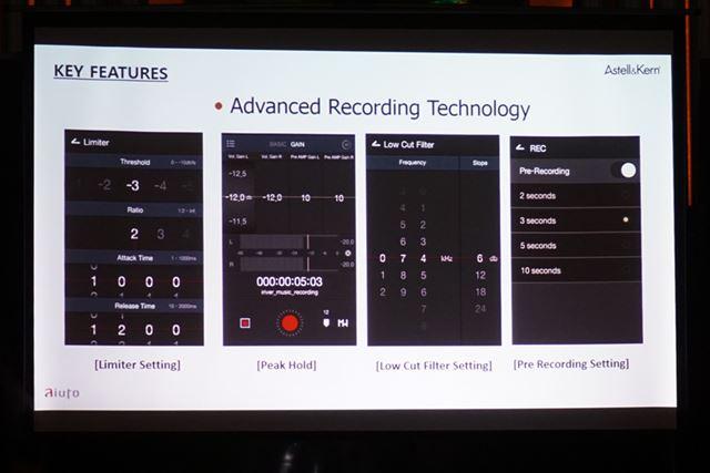 「Advanced Recording Technology」と呼ばれる独自機能も搭載