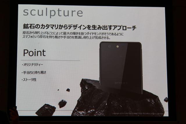コンセプトは「sculpture」