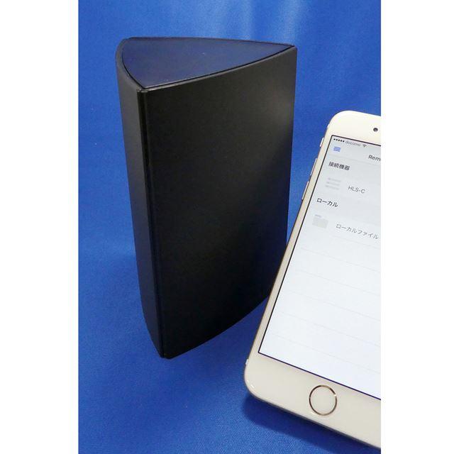 「ポケドラCloud」。HDDの中身はiPhoneなどを通じて見られる仕組み