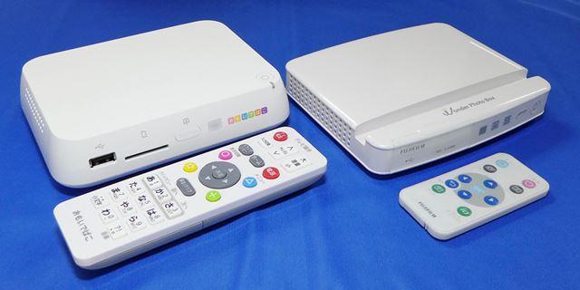 基本的にはテレビの側に置き、HDMI経由でテレビに映して使う