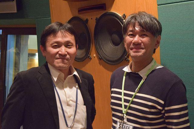 有限会社オリオスペックの酒井啓吉さん(左)と佐藤智将(右)さん