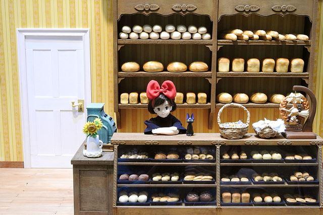 タカラトミーのブースでは、「グーチョキパン屋」のシーンが再現されていました