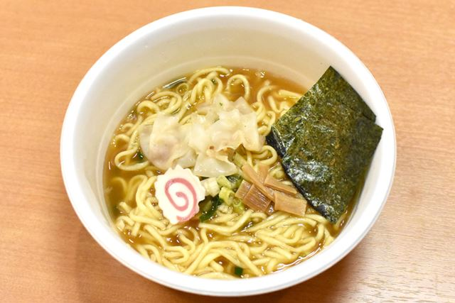 創業55周年記念のコラボカップ麺が完成!