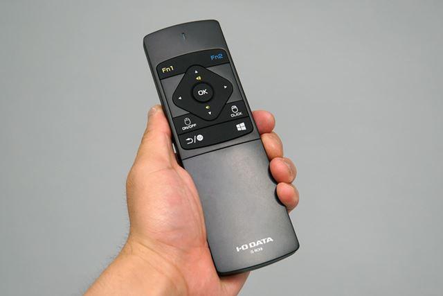 アイ・オー・データ機器「IS-RCKB」。発売は2016年6月中旬を予定。価格はオープンだ