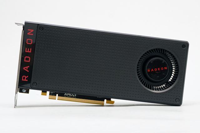 今回使用したRadeon RX 480 リファレンスカード