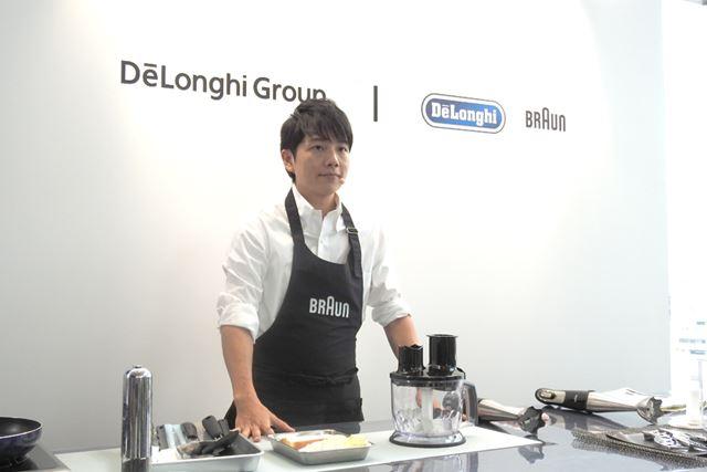 講師として登場したのはイケメン料理家の中辻健太氏。「最小の努力で最大の効果を」がモットーだそう