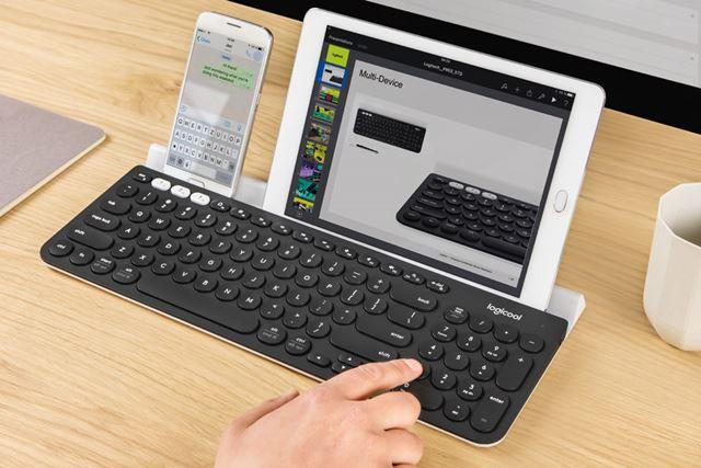 「K780 マルチデバイス Bluetooth キーボード」