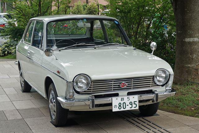 イベント期間中は、スバルの名車「スバル1000」も展示される