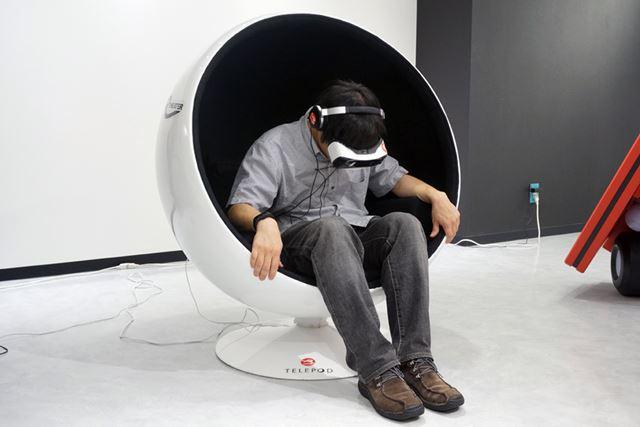 「攻殻機動隊 新劇場版 Virtual Reality Diver」では、映像作品の中を360度自由に見ることができます