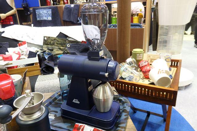 イオンを噴射することで、本体にもコーヒーの粉がまとわりつきにくくなるそう