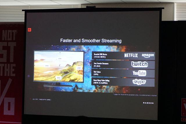 ニーズが高まっているゲームのストリーミング配信向けに、マルチメディア機能も強化していくという