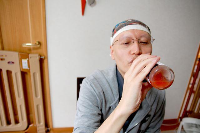 うめぼしコーラは、変わり種のドリンクながら、スッキリとした味わいで好印象