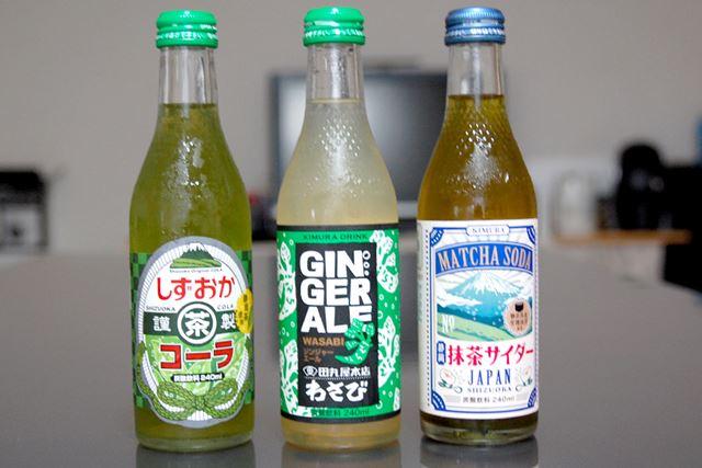 静岡シリーズのコーラ&サイダーにもチャレンジ!