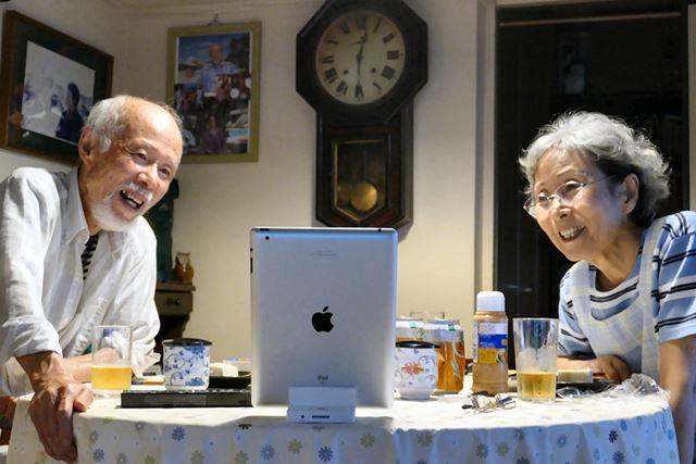 徹夜作業でも、両親の笑顔がうれしい!