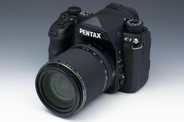 HD PENTAX-D FA 28-105mmF3.5-5.6ED DC WRを装着したイメージ