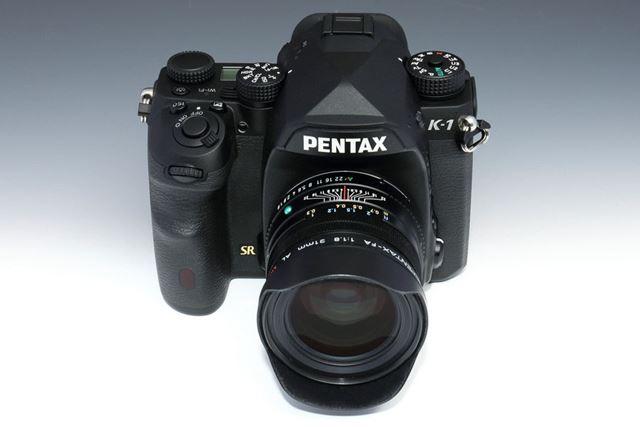 描写力で定評のあるFA Limitedの広角レンズ「smc PENTAX-FA 31mmF1.8AL Limited」を装着したイメージ